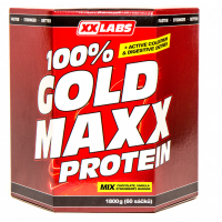 XXLABS 100% Gold maxx protein mix příchutí sáčky 60 x 30 g