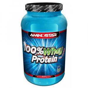 AMINOSTAR 100% Whey Protein 76% 2000 g - Čokoláda