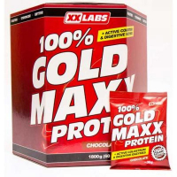XXLABS GOLD MAXX 100% protein vanilka 1800 g