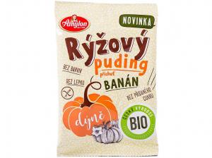 AMYLON Rýžový puding s dýní a příchutí banánu 40 g BIO