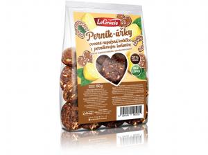 LEGRACIE Ovocné nepečené sušenky Perník-ářky 150 g