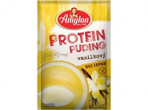 AMYLON Protein puding vanilkový bez lepku 40 g