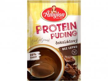 AMYLON Protein puding čokoládový bez lepku 45 g
