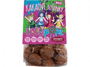 ZEMANKA Kakaové sušenky Lollipopz 100 g BIO