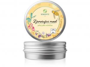 """SEMANTE BY NATURALIS Zjemňující mast s propolisem """"Pilný jako včelička"""" BIO 50 ml"""