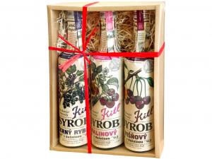 KITL Syrob Červené ovoce 3x 500 ml DÁRKOVÉ balení