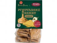 BIOPEKÁRNA ZEMANKA Pivovarské krekry česnekové 100 g