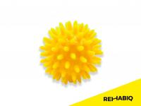 REHABIQ Masážní míček ježek žlutý 6 cm