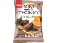 SEMIX Mini müsli tyčinky s kakaovými boby a pomerančem 70 g