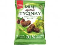 SEMIX Mini müsli tyčinky s oříšky bez lepku 70 g