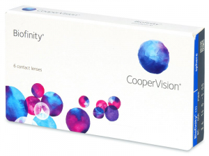 COOPERVISION Biofinity měsíční čočky 6 kusů