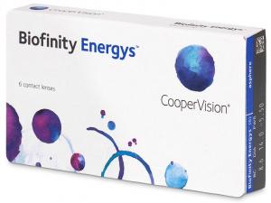 COOPERVISION Biofinity Energys měsíční čočky 6 kusů