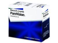 BAUSCH & LOMB PureVision měsíční čočky 6 kusů