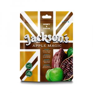 JACKSON´S APPLE MAGIC COCOA Sušený jablkový snack s lesním medem a kakaem 30 g