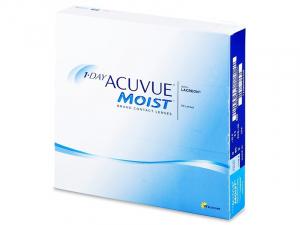 JOHNSON Acuvue Moist Jednodenní kontaktní čočky 90 kusů