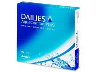 ALCON Dailies AquaComfort Plus jednodenní čočky 90 kusů, Počet dioptrií: -10,0, Průměr: 14,0, Zakřivení: 8,7, Počet kusů v balení: 90 ks