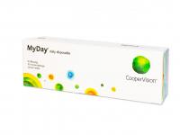 COOPERVISION MyDay Daily Disposable jednodenní čočky 30 kusů, Počet dioptrií: -9,50, Průměr: 14,2, Zakřivení: 8,4, Počet kusů v balení: 30 ks