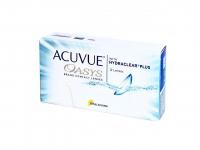 Johnson Acuvue Oasys dvoutýdenní kontaktní čočky 12 kusů, Počet dioptrií: -1,25, Průměr: 14,0, Zakřivení: 8,4, Počet kusů v balení: 12 ks