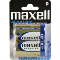 MAXELL LR20 2BP D - alkalické baterie