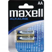 MAXELL LR6 2BP AA alkalické tužkové baterie