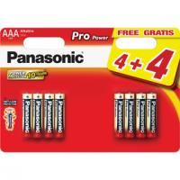 PANASONIC LR03 8BP AAA pro power alkalické baterie