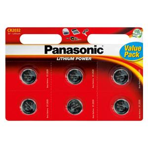 PANASONIC CR-2032 6BP Li baterie