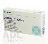 JANUVIA 100 MG  28X100MG Potahované tablety