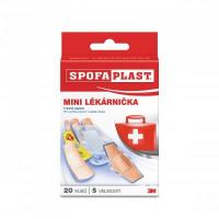 3M™ SPOFAPLAST 602 Mini lékárnička náplasti 5 velikostí 20 kusů