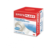 3M™ SPOFAPLAST 432 Fixační náplast z transparentní fólie 2,5 cm x 5 m 1 kus