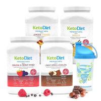 KETODIET 4týdenní proteinové nápoje Intense1.krok 140 porcí