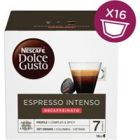 NESCAFÉ Dolce Gusto Espresso Intenso Decaffeinato kávové kapsle 16 ks