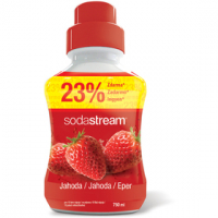 SODASTREAM Sirup s příchutí jahody 750 ml