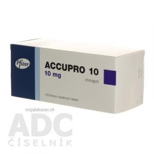 ACCUPRO 10  100X10MG Potahované tablety