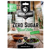 ROYAL JERKY Zero sugar beef bites hovězí sušené kousky bez cukru 50 g