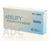 ABILIFY 15 MG  28X15MG Tablety