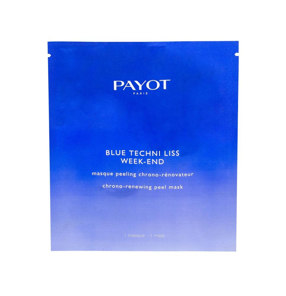 PAYOT Blue Techni Liss pleťová maska Week-End 1 ks