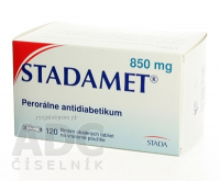 STADAMET 850 Potahované tablety 120x850 mg