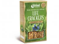 LIFEFOOD Life crackers Zelánky 60 g BIO