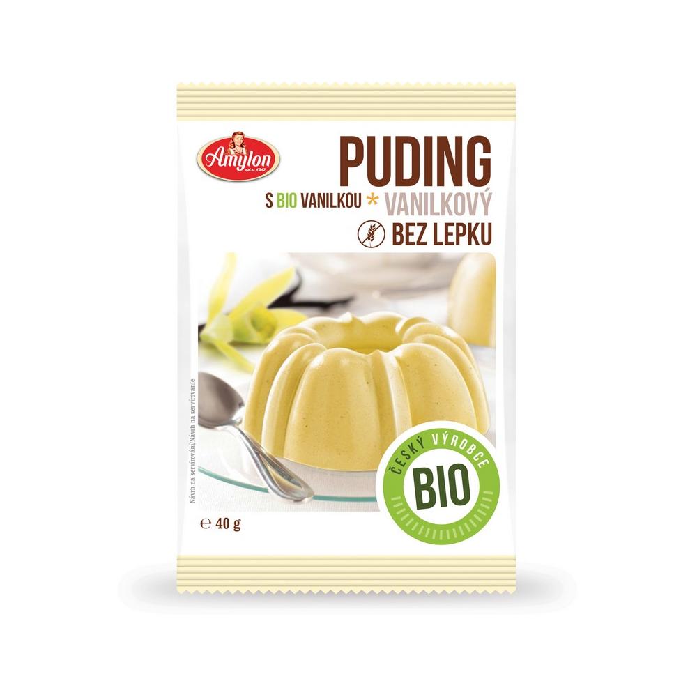 AMYLON Puding vanilkový Amylon 40 g BIO