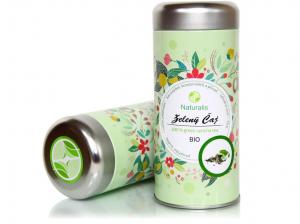 NATURALIS Čaj zelený 70 g BIO