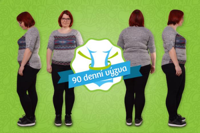 90denní výzva: Chci zhubnout 10 kilo