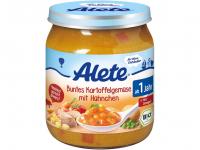 ALETE Bio Zelenina s bramborem a kuřecím masem 250 g