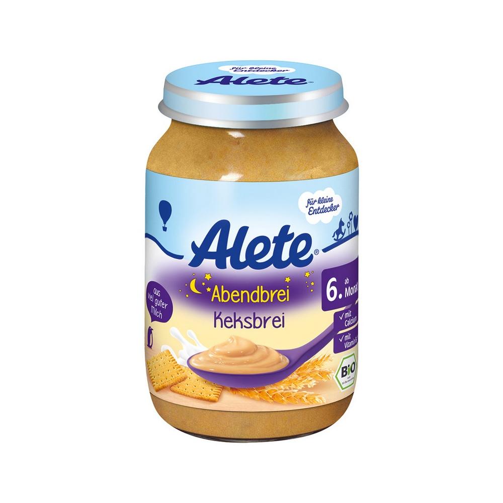 ALETE Bio Kaše večerní se sušenkami 190 g