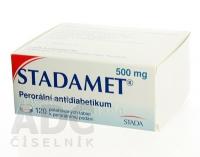 STADAMET 500  120X500MG Potahované tablety
