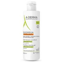 A-DERMA Exomega Control Zvláčňující pěnivý gel 500 ml