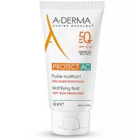 A-DERMA Protect AC Zmatňující fluid SPF 50+ 40 ml