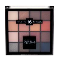 GABRIELLA SALVETE Palette 16 Shades oční stín 20,8 g 01 Gold