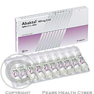 ABAKTAL 400MG/5ML INJEKCE  10X5ML Injekční roztok