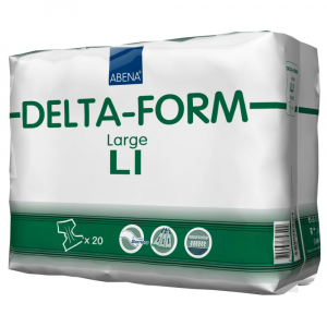 ABENA Delta form plenkové kalhotky vel. L1 20 ks