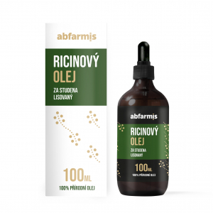 ABFARMIS Ricinový olej 100 ml